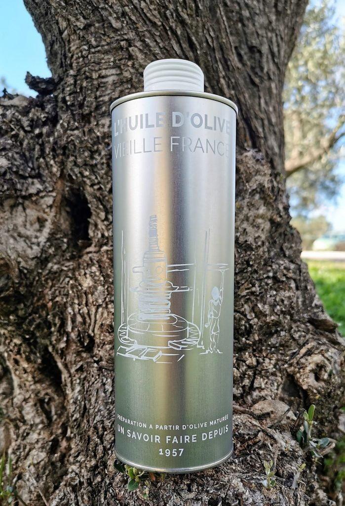 Huile d'olive maturée Vieille France du Domaine l'Oulivie