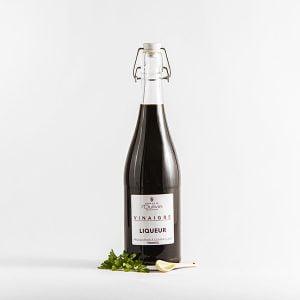Liqueur de vinaigre du Domaine L'Oulivie aux saveurs de fruits rouges très prononcées